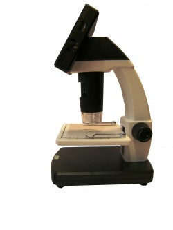 Portable Stand Alone LCD Microscopio Digitale