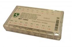Wit - 13553 Coppiglie e tubi con tacca centrata
