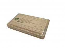 Wit - 17630 Tubi di cassa per corone impermeabili