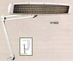 Lampada 3 tubi con grata di sicurezza (morsetto incluso) - H1900