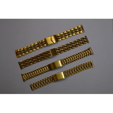 Golden Steel Strap - 4 Types
